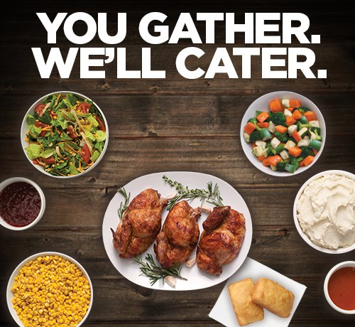 You Gather, We'll Cater